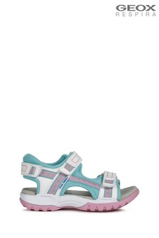 Sandalias en blanco para niña Borealis de Geox