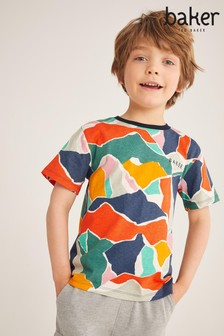 Baker by Ted Baker Camo Printed T-Shirt