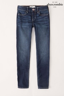 Abercrombie & Fitch Dunkle Skinny-Jeans