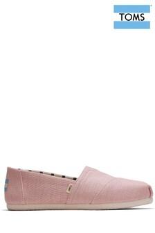 Розовые классические эспадрильи TOMS