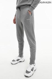 Calvin Klein 灰色小標誌運動褲
