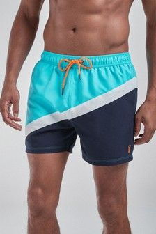 Colourblock Swim Shorts