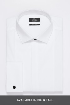 Bib Fronted Dress Shirt