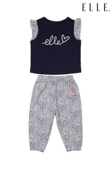 ELLE T-Shirt And Trousers Set