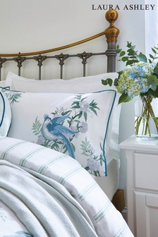 Set of 2 Laura Ashley Sage Osterley Pillowcases