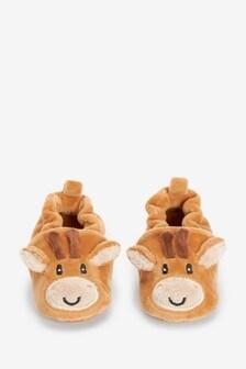 Slip-On Pram Shoes (0-18mths)