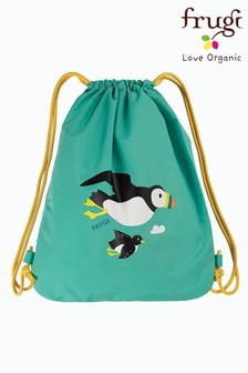 Frugi Blue Recycled Swim/PE Bag