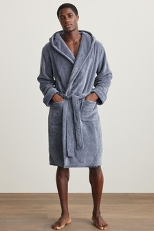 Super Soft Hooded Dressing Gown (854850)   $47