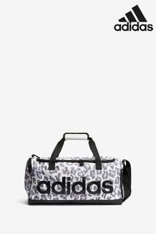 adidas - Kleine Linear sporttas met luipaardprint