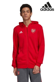 adidas Arsenal Zip Through Hoody