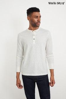 White Stuff White Brook Fairtrade Henley T-Shirt