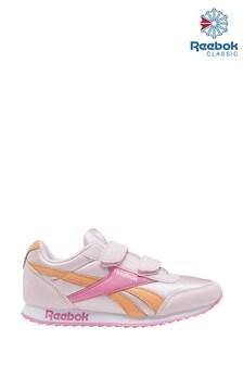 Reebok Pink/Orange Jogger Junior Trainers