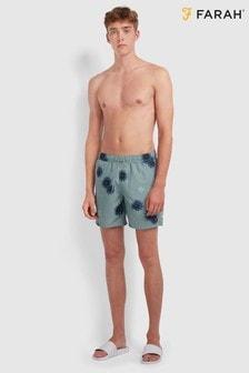 Farah Colbert Floral Print Swim Shorts