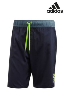 adidas Shorts in Blockfarben, Tintenblau
