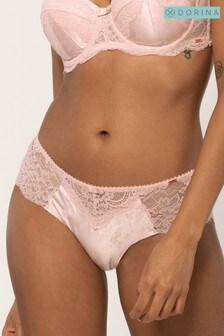 Розовые трусики-хипстеры DORINA Anderson/Jacquard