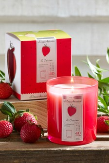 Strawberries & Cream Boxed Candle