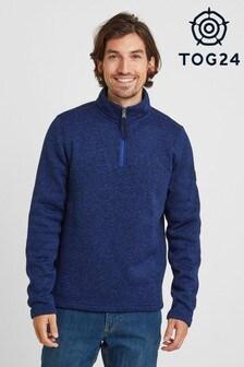Tog 24 皮爾森男裝羊毛拉鍊領上衣