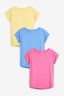 Pachet 3 tricouri cu mânecă scurtă