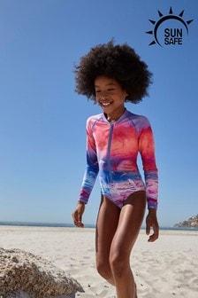 Long Sleeve Sunsafe Swimsuit (3-16yrs)