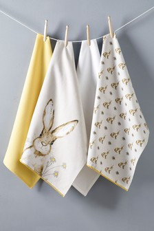 Set of 4 Tea Towels