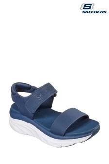 Skechers® Grey D'Lux Walker New Block Sandals