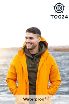 Tog 24 Orange Craven Mens Waterproof Packaway Jacket (858215) | $62