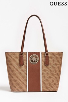 Guess Brown Open Road Tote Bag