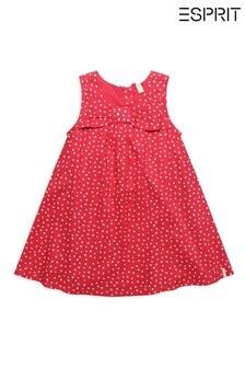 Esprit Tupfen-Kleid, Pink