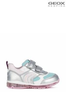 Chaussures Geox Todoargentées bébé fille