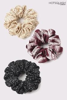 HotSquash Cream Scrunchies Three Pack