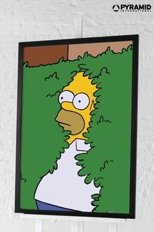 Pyramid The Simpsons Framed Poster