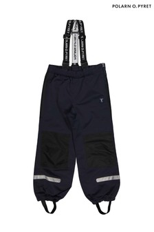 Polarn O. Pyret Blue Waterproof Shell Trousers