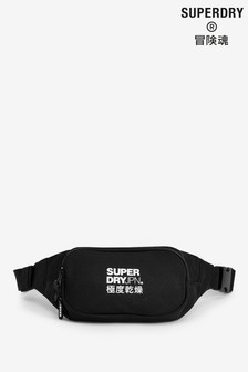 Superdry Black Bum Bag