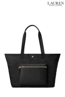 Lauren Ralph Lauren® - Canton - Borsa tote in nylon con zip