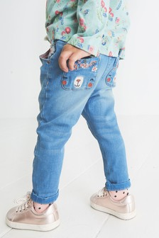 Bear Pocket Jeans (3mths-7yrs)