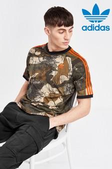 adidas Originals Camo 3 Stripe T-Shirt