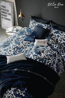 Rita Ora Blue Saburo Cobalt Bed Set