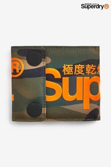 محفظة أخضر مموه من Superdry