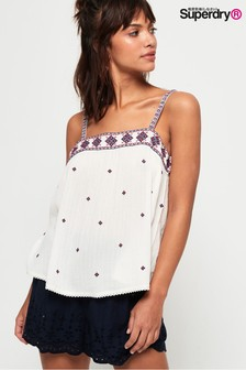 Superdry Rodeo Embroidered Cami Top
