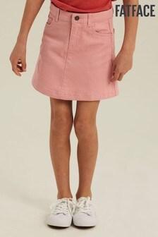 FatFace Pink 5 Pocket Skirt