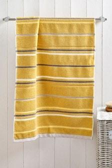 Chambray Stripe Towel