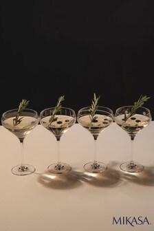 Komplet 4 pucharków do szampana Mikasa Cheers
