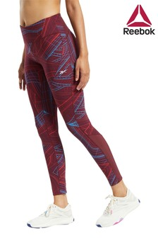 Reebok Tech Style Lux Printed Leggings