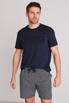 Geo Woven Pyjama Set