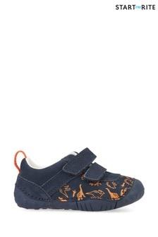 Start-Rite Roar Navy Pre-Walker Velcro Shoes