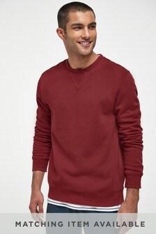 Suéter con cuello redondo