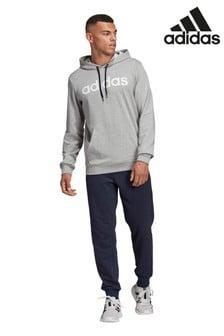 adidas Grey Team Sports Tracksuit
