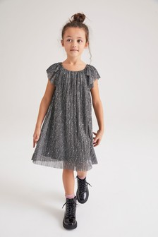 Kleid in Glitzeroptik (3-16yrs)