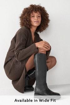 Сапоги до колен с квадратным носком Forever Comfort