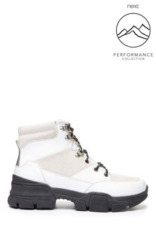 Performance Water Repellent Leather Hiker Boots